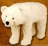 Polar Bear  Foot Rest and Decoration  Bear Decor