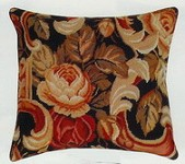 Palazzo Needle Point Pillow 20 x 20 in.