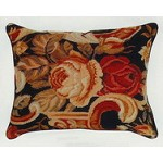 Palazzo Needle Point Pillow 16 x 20 in
