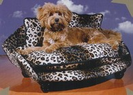 Safari Bed Leopard w/Cord Trim