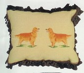Golden Retreiver Pillow