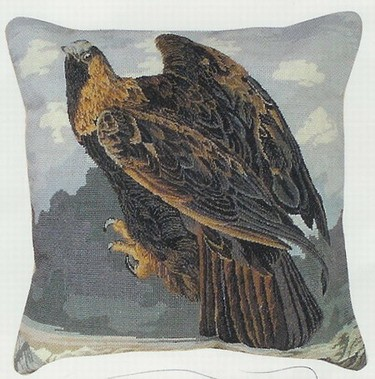Golden Eagle Mixed Stitch -Beige Back