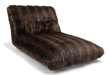 Faux Brown Mink Dog Bed