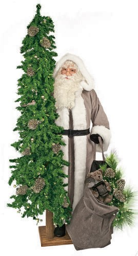 lifesize father christmas platinum exposure also available in african american outdoor father christmas lifesize santa - African American Outdoor Christmas Decorations
