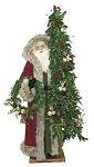 Seasonal Greetings Father Lifesize  Standing Santa