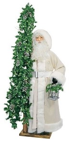 Ivory Cheer Lifesize Father Christmas also in African American